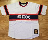 ELOY JIMENEZ CHICAGO WHITE SOX THROWBACK JERSEY XL NEW ALL STITCHED