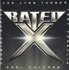 RATED X Joe Lynn Turner Carmine Appice Tony Franklin JAPAN CD with Bonus Track