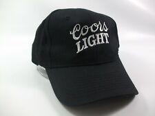 Coors Light Hat Black Snapback Baseball Cap