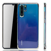 Huawei P30 pro Case Phone Cover Protective Case Bumper Silver