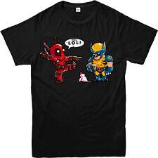 Deadpool T-Shirt, Wolverine Ice Cream Marvel Superhero Unisex Adult Kids Tee Top