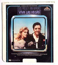 Vintage CED Video Disc Viva Las Vegas (1964) Elvis Presley Selectavision