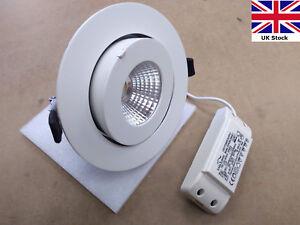 LED Downlight 24W Scoop - adjustable tilt recessed spotlight - driver included