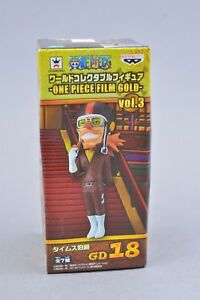 Banpresto One Piece World Collectible WCF Count Times GD18 Authentic