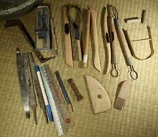 Pottery Tools Set / Japanese / Vintage