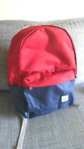 TRULY EXCELLENT - Herschel - Classic Backpack - RED AND ROYAL BLUE