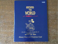 Japan Disney Phone Cards Around the World set of 16 in Holder
