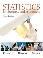 Statistics for Business and Economics (9th Edition) by James T. McClave, P. Geor