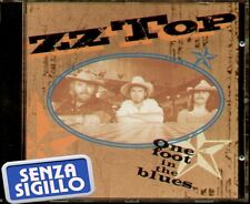 "ZZ TOP "" ONE FOOT IN THE BLUES "" CD NUOVO"