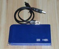 blue USB2.0 40GB External Hard Drive HDD Portable Laptop Mobile Hard Disk