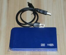 blue USB2.0 120GB External Hard Drive HDD Portable Laptop Mobile Hard Disk