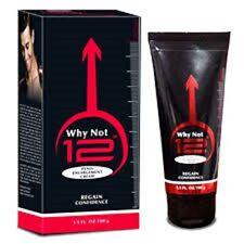 "Vitamens Why Not 12""  Enlargement Cream Increase Blood Flow Consist 100 GM"