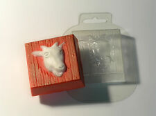 """Goat"" plastic soap mold soap making mold mould"