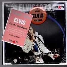 ELVIS PRESLEY Let Me.. Sing Again -Ultimate edition - digipack RARE CD + pins