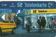 RARE / CARTE TELEPHONIQUE - GARAGE VW GOLF - AUTO VOITURE ALLEMAGNE / PHONECARD
