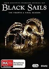 BLACK SAILS The Complete Fourth & Final Season (4 Disc DVD) - Region 4