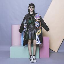 Vintga Harajuku Street Japanese Lolita Punk Wind  Coats Long Sleeve Jackets BF