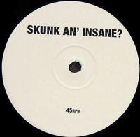 "SKUNK ANANSIE skunk an' insane (single sided white label) 12"" EX TPLP 85FP vinyl"