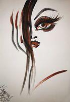 Margarita Bonke Malerei PAINTING erotica EROTIK Zeichnung akt nu art Frau Woman