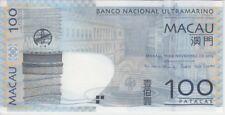 Macao BNU Banknote P82c-7640 100 Patacas 11.11.2013, UNC