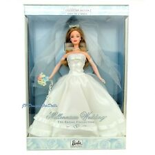 Millennium Wedding Barbie Doll The Bridal Collection First in A Series