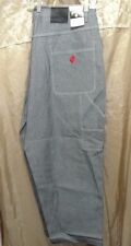 "ROCAWEAR THE COLLECTION USA MEN'S JET COLOR CARPENTER JEANS SIZE 44"" X 31""."