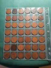 Australian Penny Set Minus 1925,1930,1946 (67 coins) Fine and VF