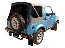 1986-1994 Suzuki Samurai Soft Top and Tinted Windows Black Denim