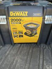 New Dewalt Dw079lr Self Leveling 20 Volt Rotary Laser Level 2000 Range