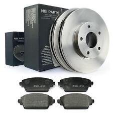 Bremsscheiben 280mm + Bremsbeläge vorne für Nissan Almera Tino V10 Primera P12