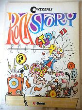 ROCK STORY - CAVEZZALI - GLENAT 1989 1°ED. - A11