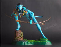 James Cameron's Movie Avatar 2 Navi Neytiri Crazy PVC Figure Model 35cm