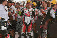 Xavier Simeon Hand Signed Federal Oil Gresini Suter 12x8 Photo 2014 Moto2.