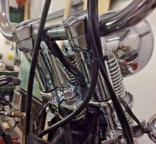 HUGE HARLEY SPRINGER CHROME SPIKE STEERING STEM NUT chopper bobber hd pike 1213