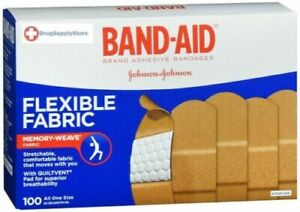 Band-aid Flexible Fabric 1sz 100ct