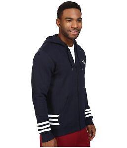 BNWT Adidas Originals Street Graphic Men's Full Zip Hoodie – Size XL – RRP$130