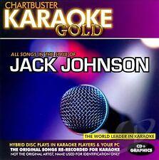 Chartbuster Karaoke Gold Series - KGR13012   (Jack Johnson)