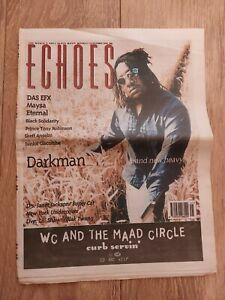 ECHOES MAGAZINE 14 OCTOBER 1995 DARKMAN DAS EFX MAYSA ETERNAL SKEFF ANSELM
