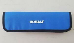 """NEW Kobalt Zippered Tool Bag Pouch 11.5"""""""