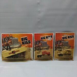 X3 Vintage ZEE TOYS HO Big Rigs Semi Truck Die Cast Lot