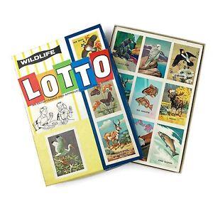 Vtg Wildlife Lotto Game National Wildlife Federation No. Nature Ephemera 20015