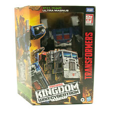 Transformers War for Cybertron Kingdom Leader Ultra Magnus IN STOCK