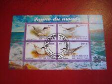 BURUNDI - 2011 BIRDS: SEAGULLS -  MINISHEET - UNMOUNTED USED MINIATURE SHEET