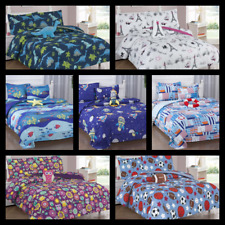 6/8PC BEDDING COMPLETE COMFORTER AND SHEET SET BED DRESSING FOR KIDS TEENS