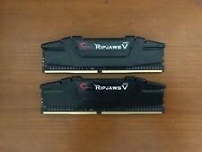 New listing G. Skill RipJaws V Series 16Gb (2 x 8Gb) Pc4-28800 (Ddr4-3200) Memory (F43600C18