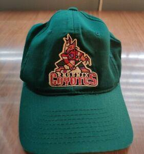 Vintage Starter 1990s Pheonix Coyotes Green Adjustable Snapback Hat Cap