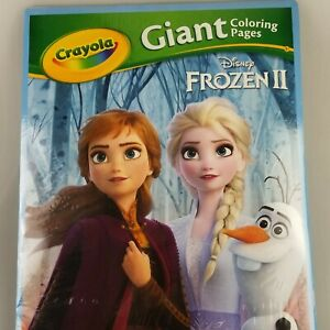 Crayola Giant Coloring Pages Featuring Disney's Frozen 2 (18 Pages) - 12.75X19.5