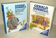 2x Gerald Durrell Interest - 6 Cassette each - Chivers Audio Books