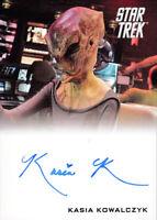 2014 Rittenhouse Star Trek The Movie Auto Autograph Kasia Kowalczyk