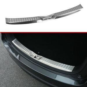 Steel Tail Gate Bumper Door Sill Lid Plate Cover Trim For Mazda CX5 KF 2017-2020